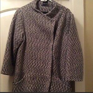 Dolce Vita Grey 3/4 Sleeve Jacket Size S